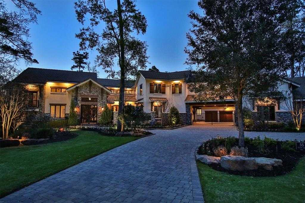 $4,999,000 - 6Br/8Ba -  for Sale in Carlton Woods, The Woodlands