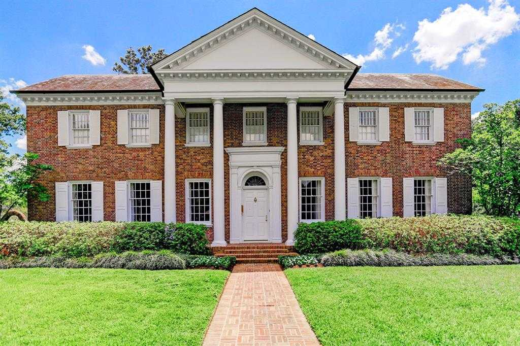 $7,350,000 - 4Br/5Ba -  for Sale in River Oaks Country Club Estate, Houston