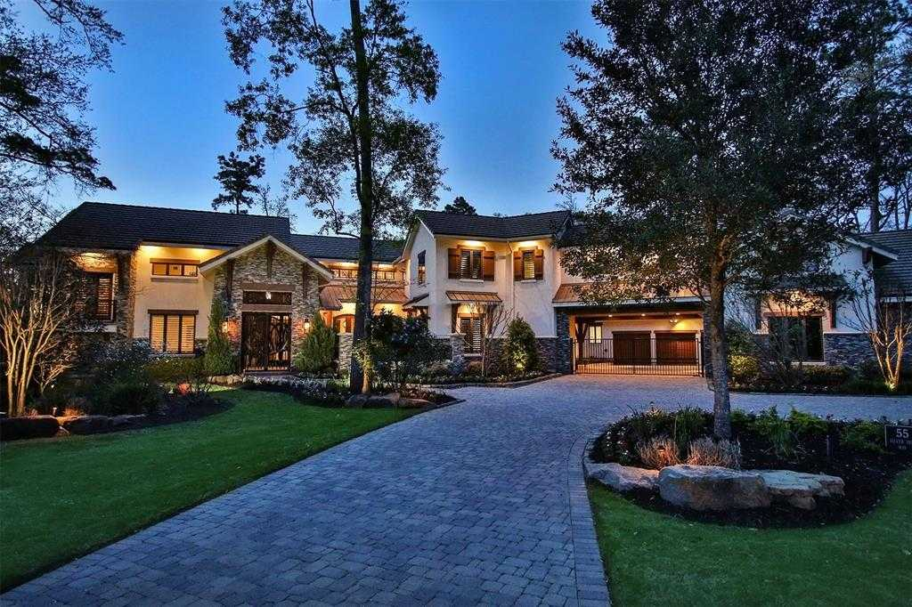 $4,750,000 - 6Br/8Ba -  for Sale in Carlton Woods, The Woodlands