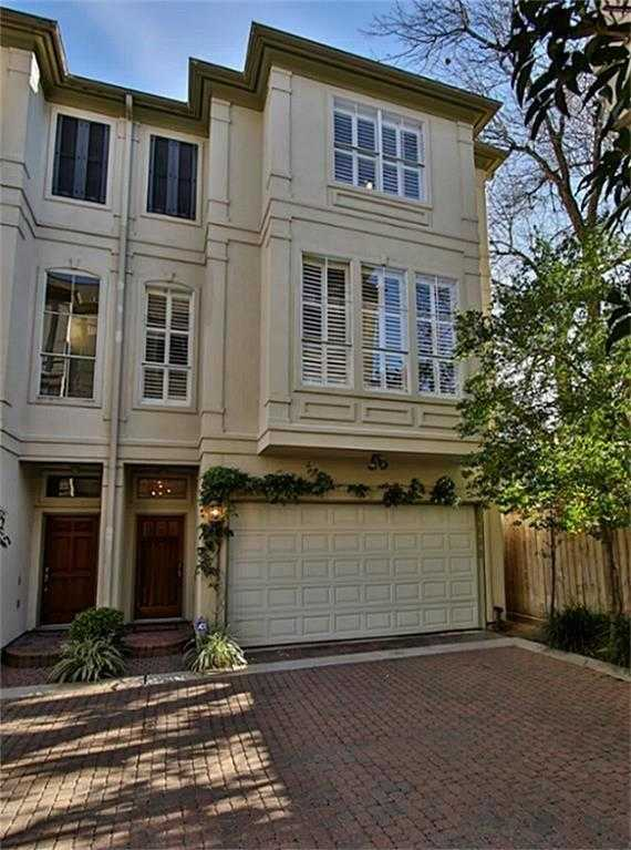 $473,900 - 3Br/4Ba -  for Sale in Hyde Park West Blk 02, Houston