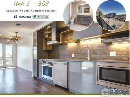 $559,000 - 1Br/2Ba -  for Sale in Confluence, Fort Collins