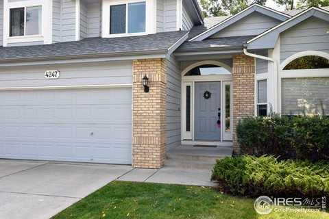 $500,000 - 4Br/3Ba -  for Sale in Creekside At The Landings, Fort Collins