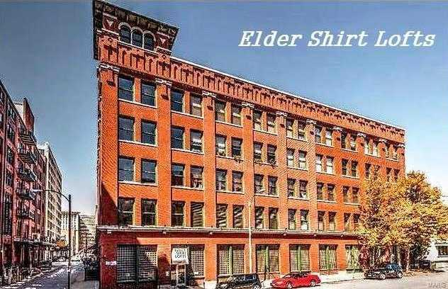 Elder Shirt Lofts Downtown St Louis St Louis Condos Lofts Com