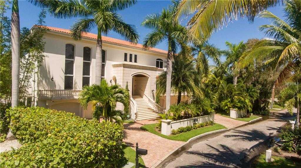 $6,500,000 - 6Br/7Ba -  for Sale in Roberts Point 2, Sarasota