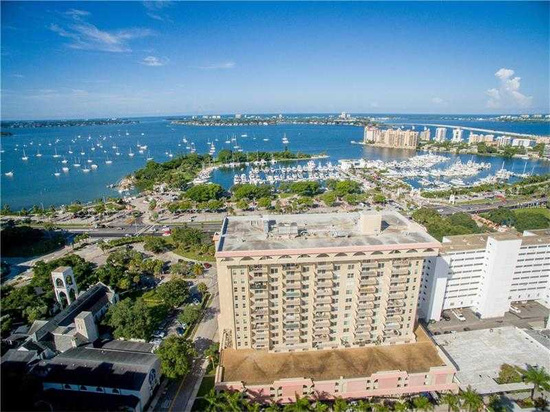 $329,900 - 2Br/2Ba -  for Sale in Dolphin Tower, Sarasota