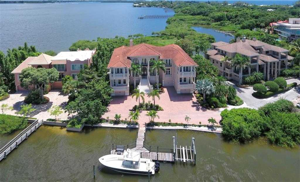 $5,999,999 - 5Br/6Ba -  for Sale in Point Crisp Add, Sarasota