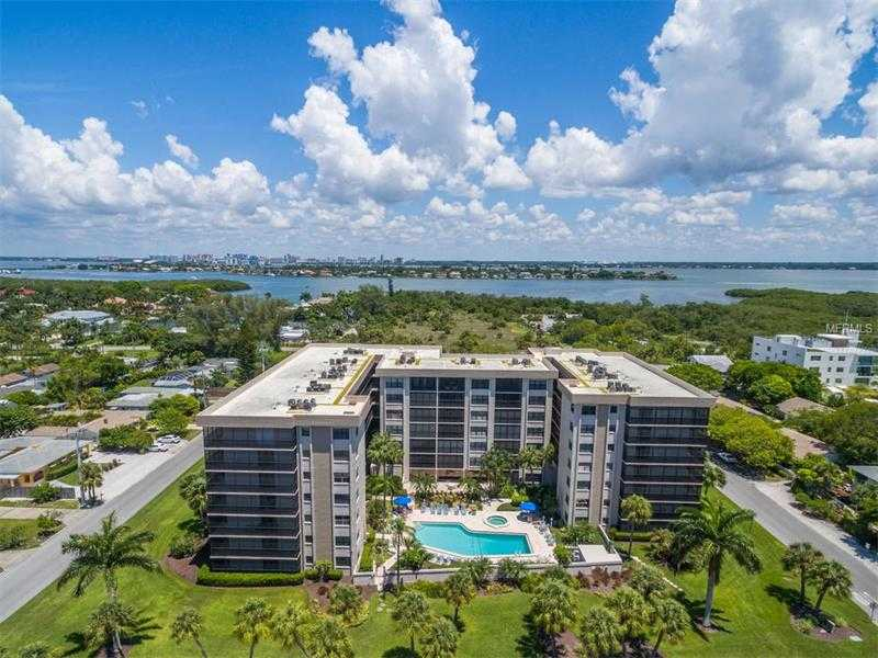 $299,900 - 1Br/2Ba -  for Sale in Lido Towers, Sarasota