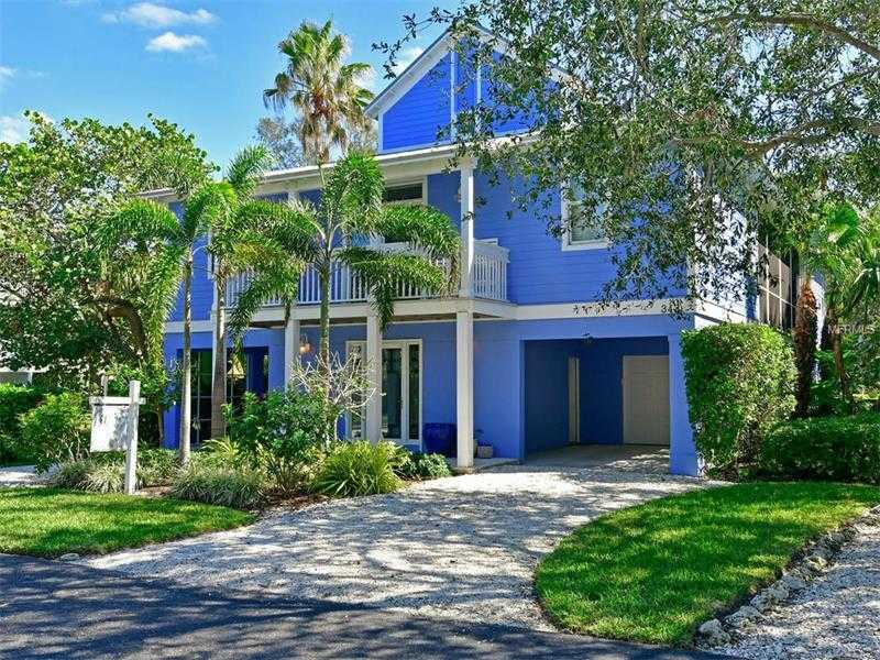 $1,349,000 - 3Br/3Ba -  for Sale in Conrad Beach Sub, Longboat Key