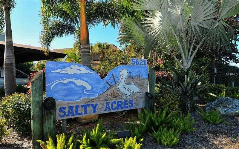 $675,000 - 2Br/2Ba -  for Sale in Salty Acres Condo, Longboat Key
