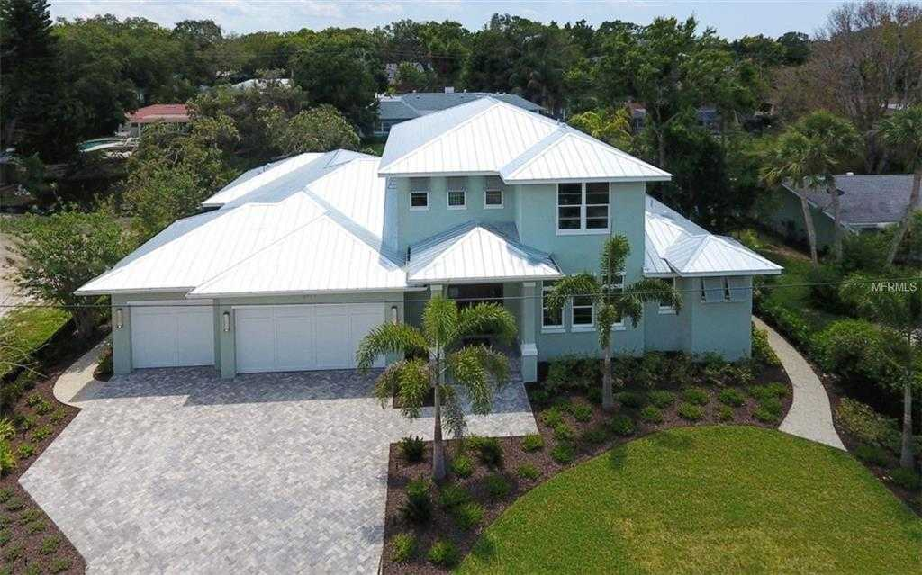 $1,995,000 - 3Br/4Ba -  for Sale in Lake Park, Sarasota