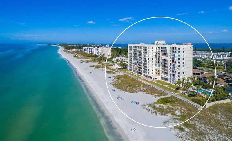 $549,900 - 2Br/2Ba -  for Sale in Longboat Harbour Towers, Longboat Key