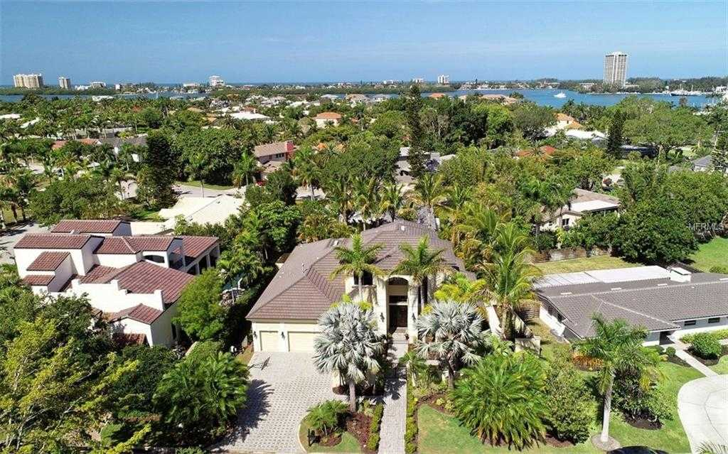 $1,749,000 - 4Br/5Ba -  for Sale in Bird Key Sub, Sarasota