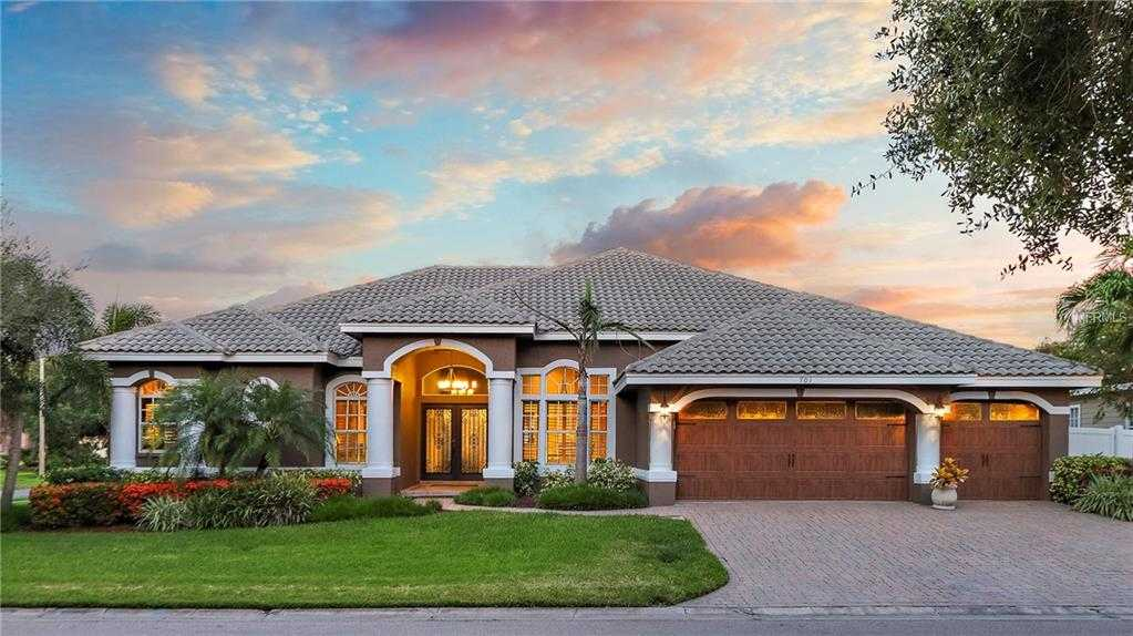 $850,000 - 4Br/4Ba -  for Sale in Placido Bayou, St Petersburg