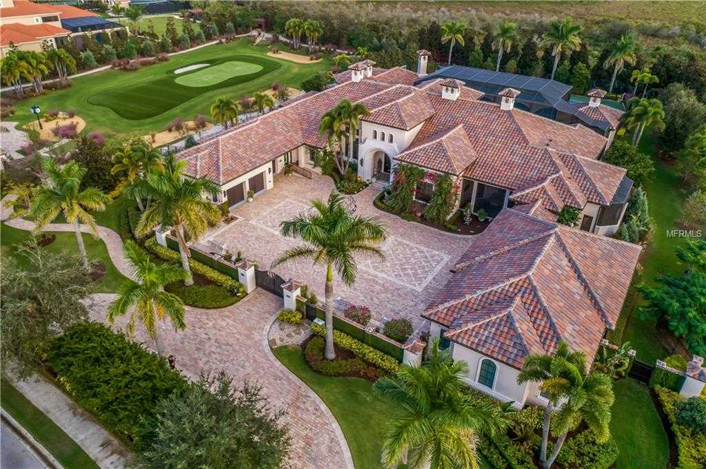 $6,200,000 - 5Br/6Ba -  for Sale in Lake Club Ph I, Lakewood Ranch