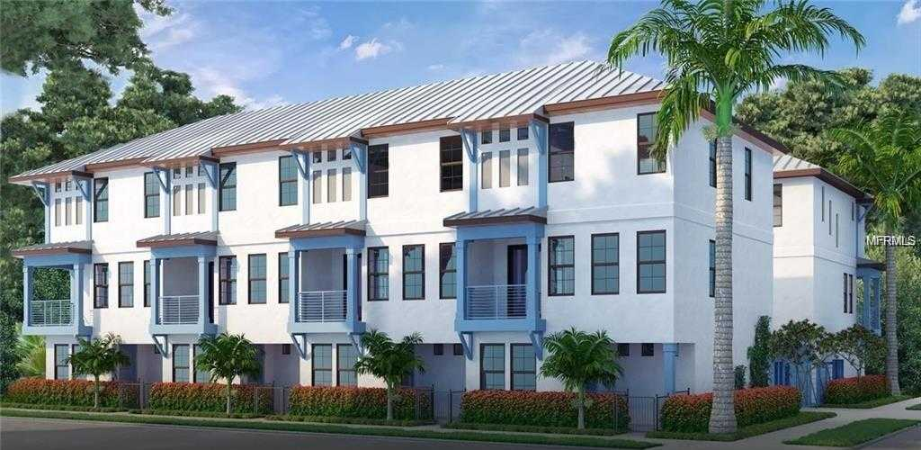 $469,500 - 3Br/4Ba -  for Sale in Saint James Townhomes, St Petersburg