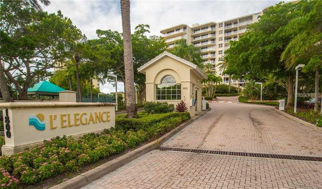 $799,000 - 2Br/2Ba -  for Sale in L Elegance On Lido Beach, Sarasota