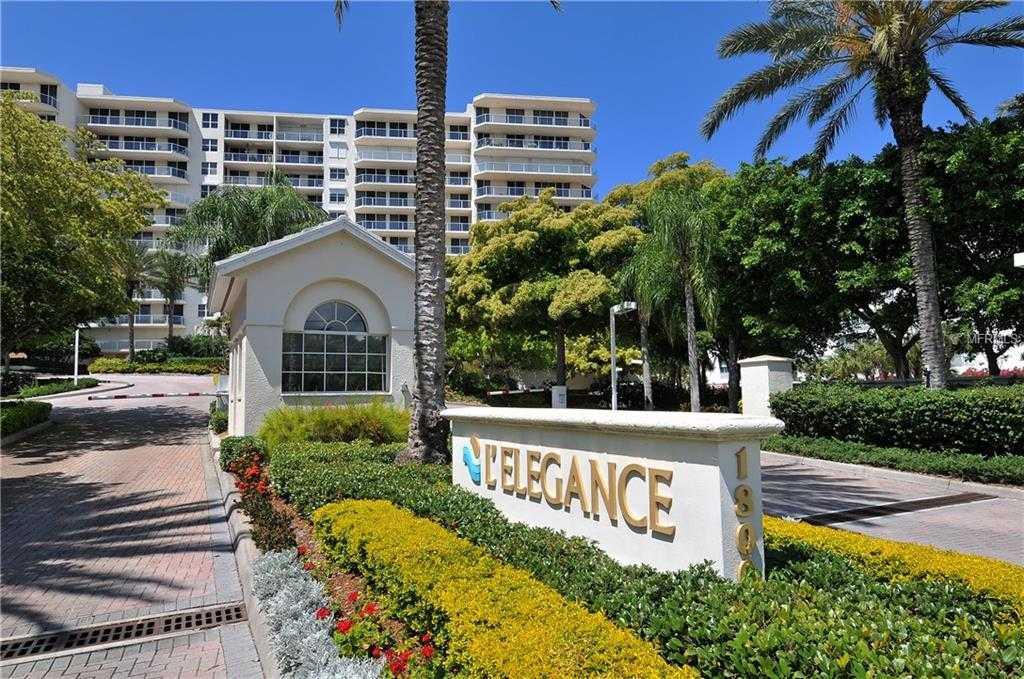 $1,175,000 - 3Br/3Ba -  for Sale in L Elegance On Lido Beach, Sarasota