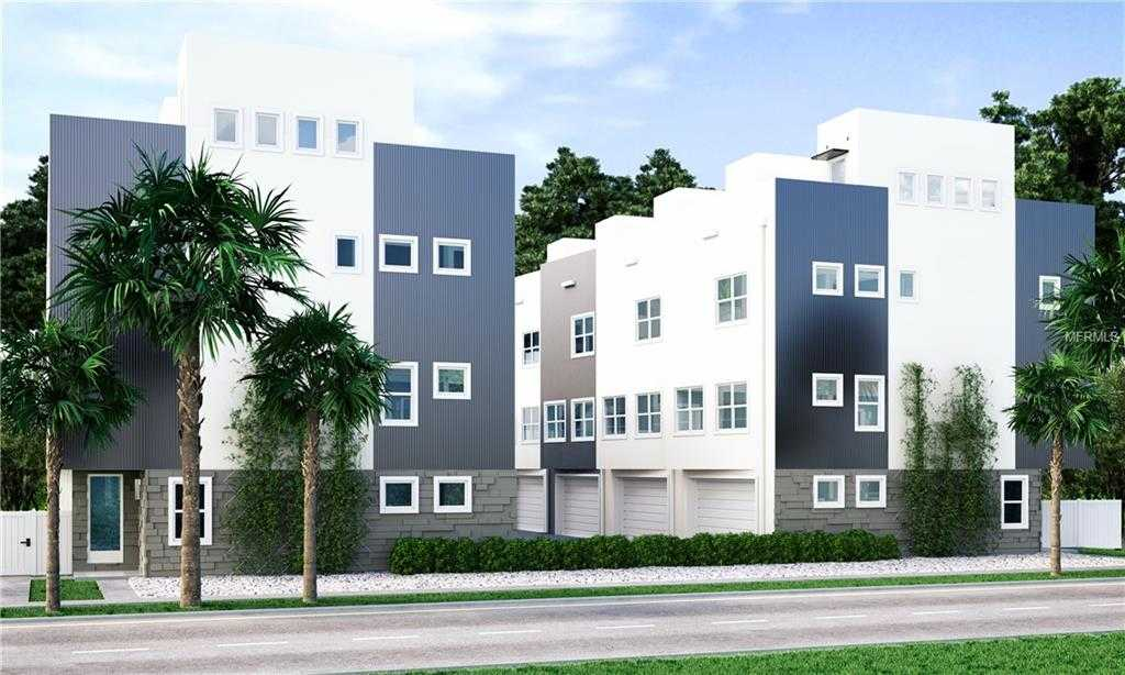 $839,000 - 3Br/4Ba -  for Sale in 5th Avenue Townhomes, St Petersburg