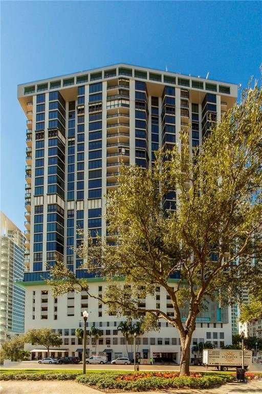 $1,275,000 - 2Br/2Ba -  for Sale in Bayfront Tower Condo, St Petersburg
