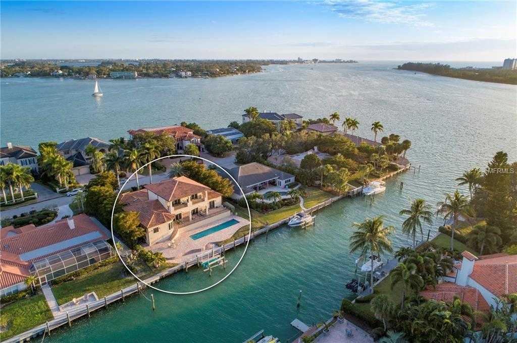 $2,997,000 - 4Br/4Ba -  for Sale in Bird Key, Sarasota