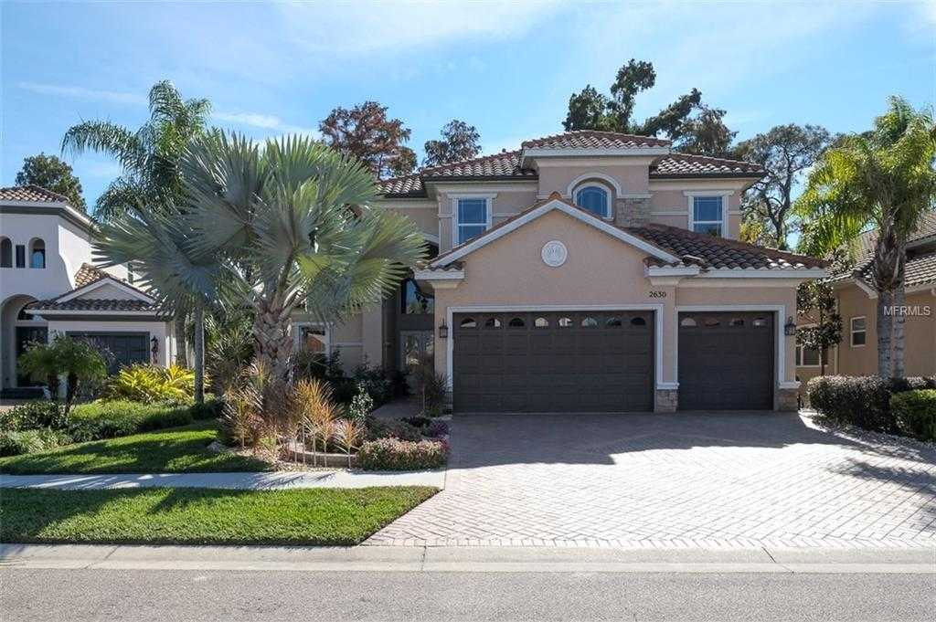 $849,995 - 4Br/5Ba -  for Sale in Grand Cypress On Lake Tarpon, Palm Harbor