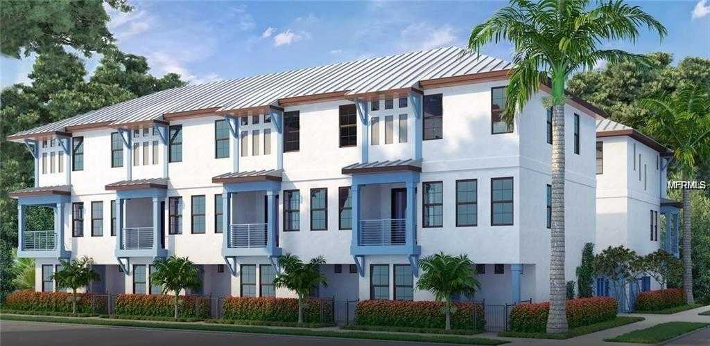 $499,500 - 3Br/4Ba -  for Sale in Saint James Townhomes, St Petersburg