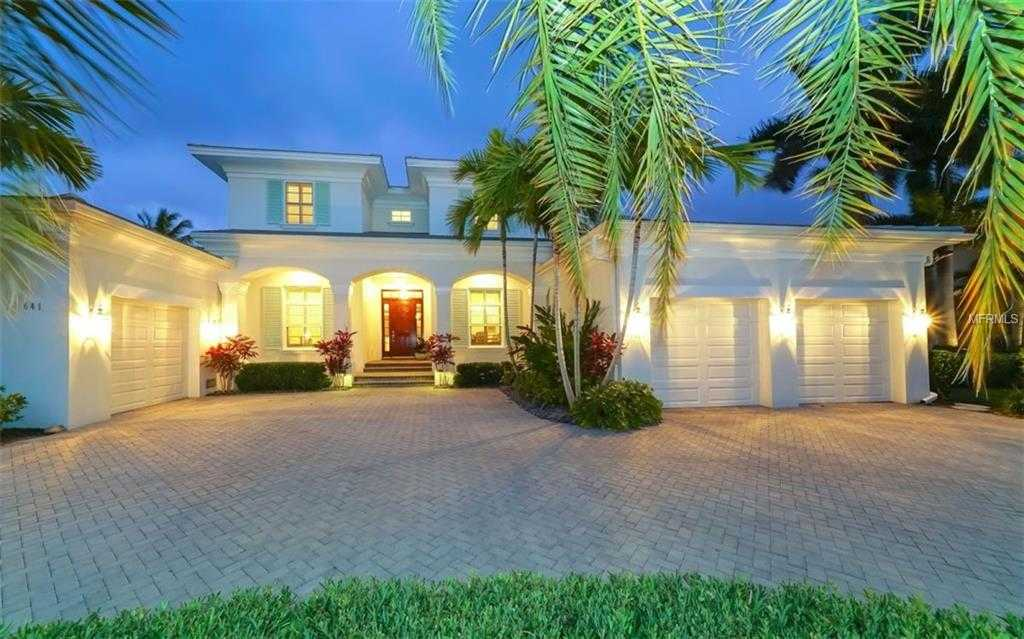 $3,550,000 - 4Br/5Ba -  for Sale in Bird Key Sub, Sarasota