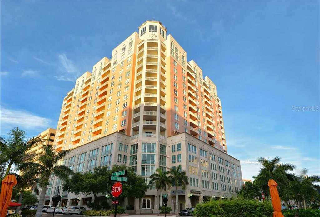$695,000 - 2Br/2Ba -  for Sale in 1350 Main Residential, Sarasota
