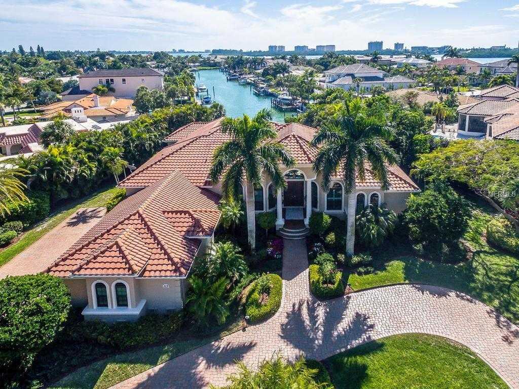 $3,295,000 - 3Br/4Ba -  for Sale in Bird Key Sub, Sarasota