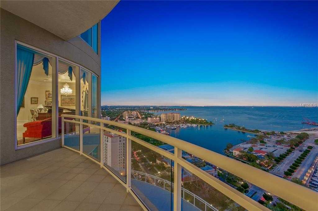 $6,950,000 - 3Br/4Ba -  for Sale in Ovation Condo, St Petersburg