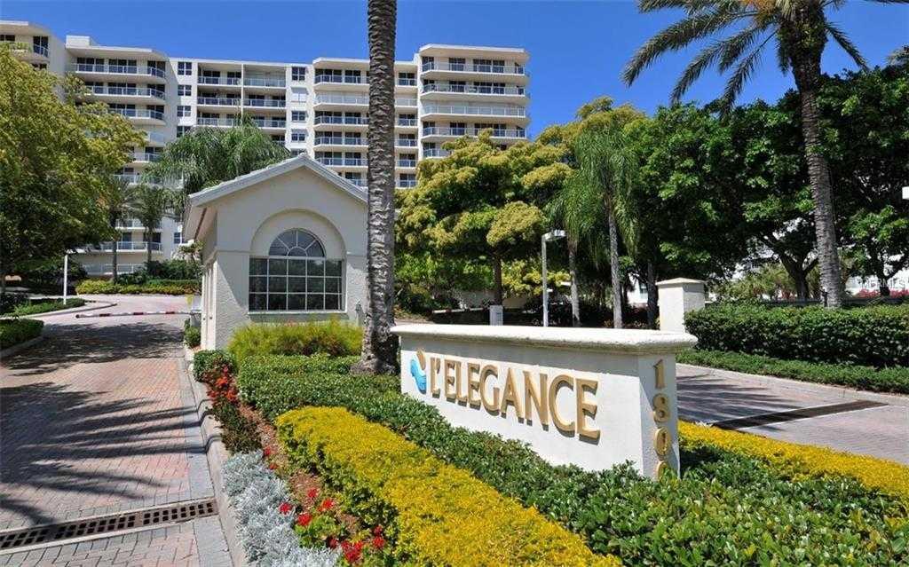 $1,189,000 - 3Br/3Ba -  for Sale in L Elegance On Lido Beach, Sarasota
