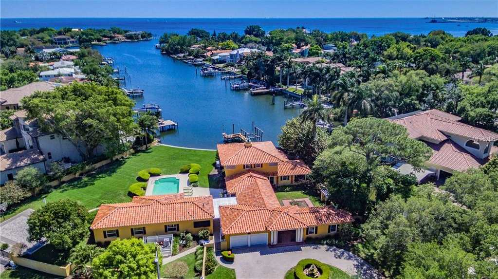 $3,400,000 - 4Br/5Ba -  for Sale in Snell Isle Brightwaters Sec 2, St Petersburg