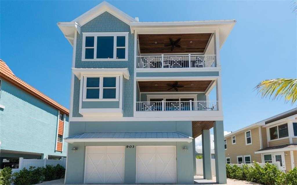 $2,650,000 - 6Br/7Ba -  for Sale in Cortez Beach Pb1/203 &, Bradenton Beach