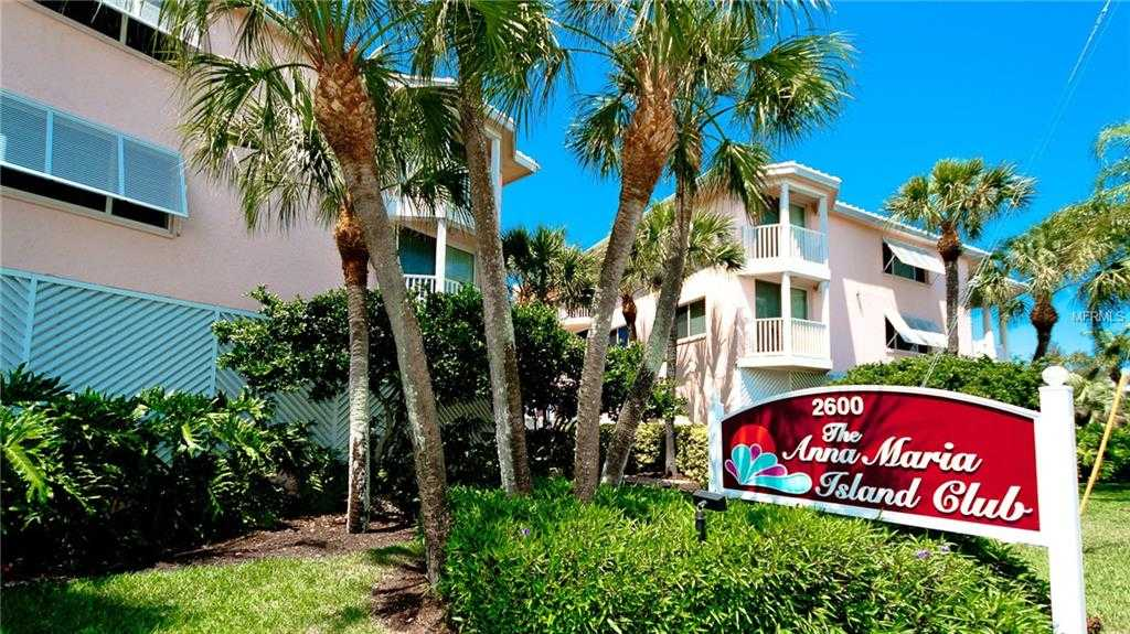 $789,500 - 2Br/2Ba -  for Sale in Anna Maria Island Club Condomin, Bradenton Beach