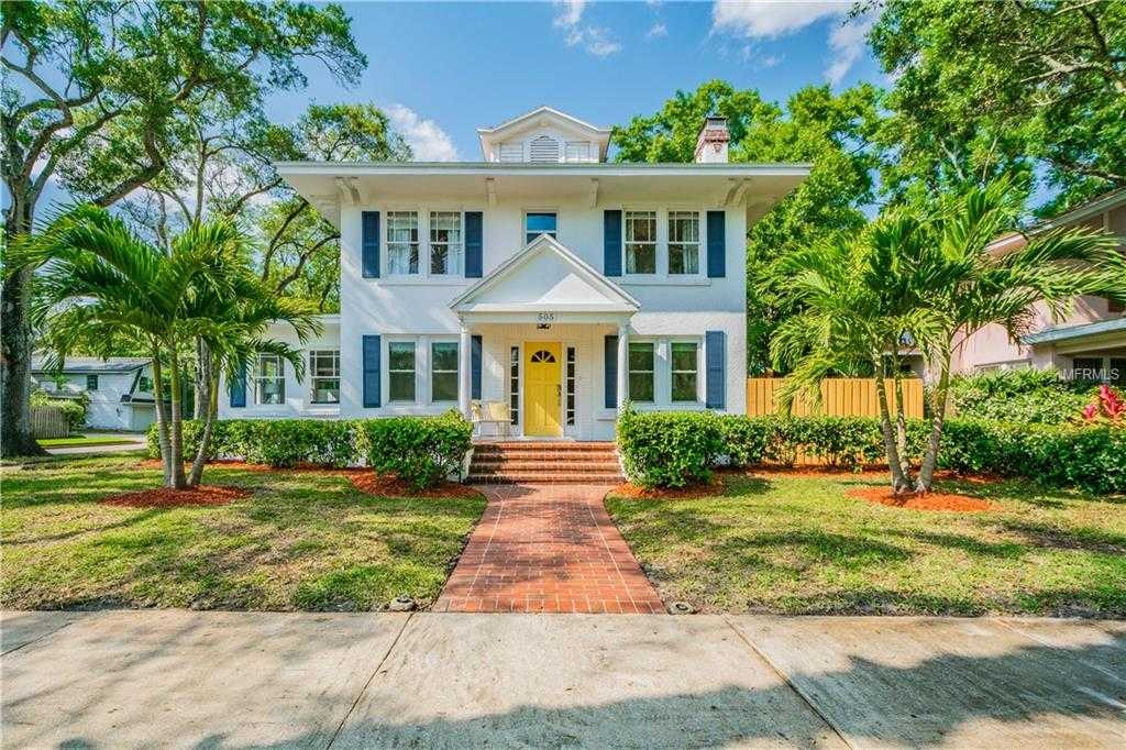 $899,000 - 4Br/4Ba -  for Sale in Snell & Hamletts North Shore Add, St Petersburg