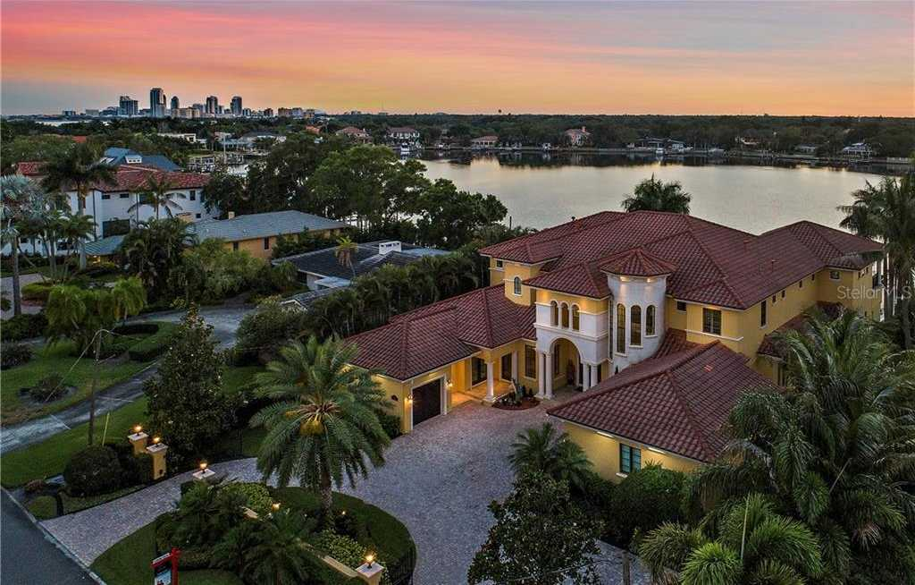 $5,600,000 - 5Br/8Ba -  for Sale in Snell Isle Brightwaters Unit C, St Petersburg