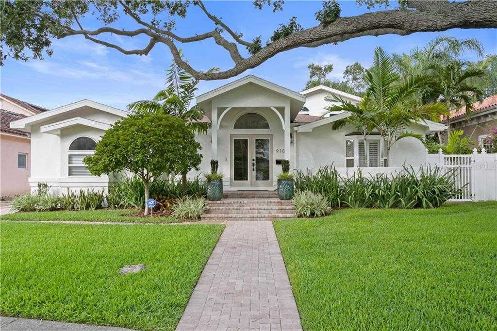 $1,025,000 - 3Br/3Ba -  for Sale in Snell Isle Brightwaters Sec 1 Rep, St Petersburg