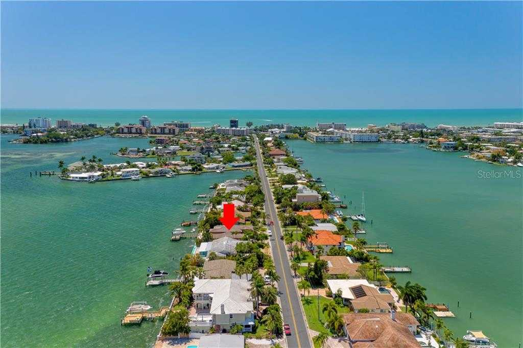 $1,000,000 - 2Br/3Ba -  for Sale in Brightwater Beach Estates 1st Add, St Pete Beach