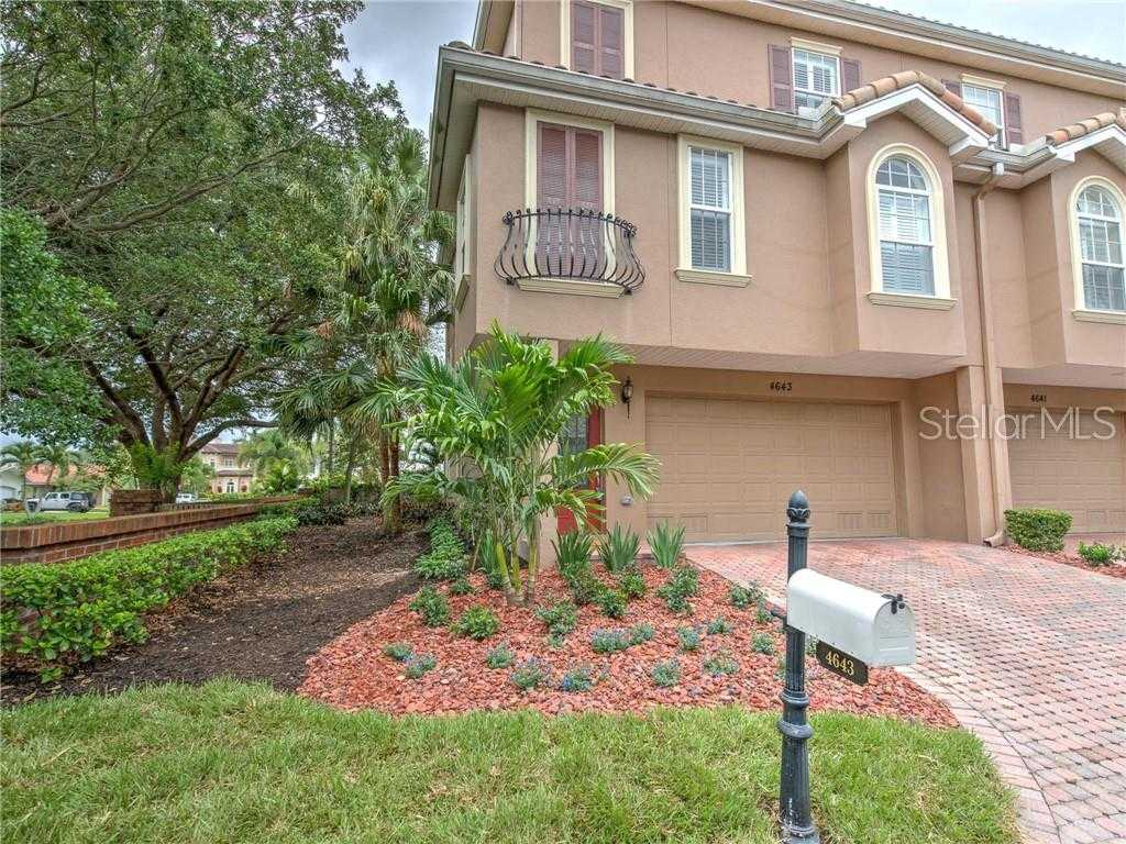 $569,000 - 4Br/4Ba -  for Sale in Sun Ketch Twnhms At Venetian Isles, St Petersburg