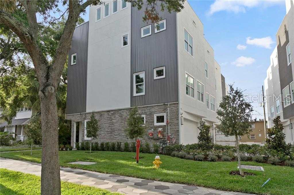 $819,900 - 3Br/4Ba -  for Sale in 5th Avenue Townhomes, St Petersburg