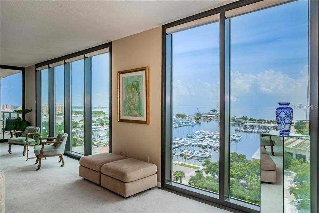 $1,050,000 - 2Br/2Ba -  for Sale in Bayfront Tower Condo, St Petersburg