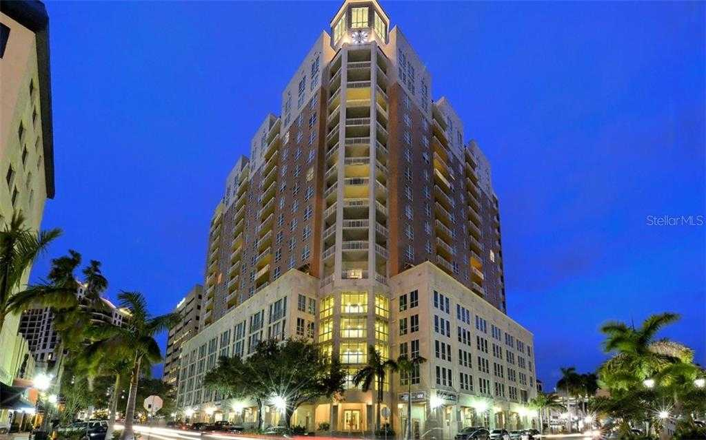 $629,000 - 2Br/2Ba -  for Sale in 1350 Main Residential, Sarasota