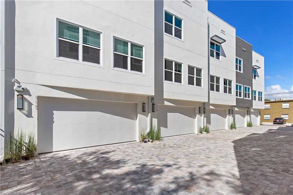 $809,900 - 3Br/4Ba -  for Sale in 5th Avenue Townhomes, St Petersburg