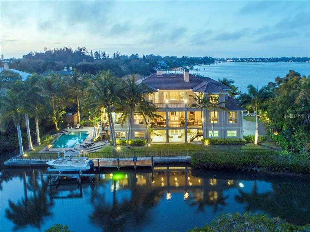 $6,250,000 - 5Br/6Ba -  for Sale in Point Crisp, Sarasota