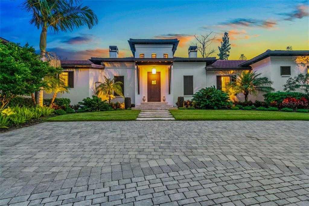 $2,495,000 - 3Br/4Ba -  for Sale in Spice Bay, Sarasota