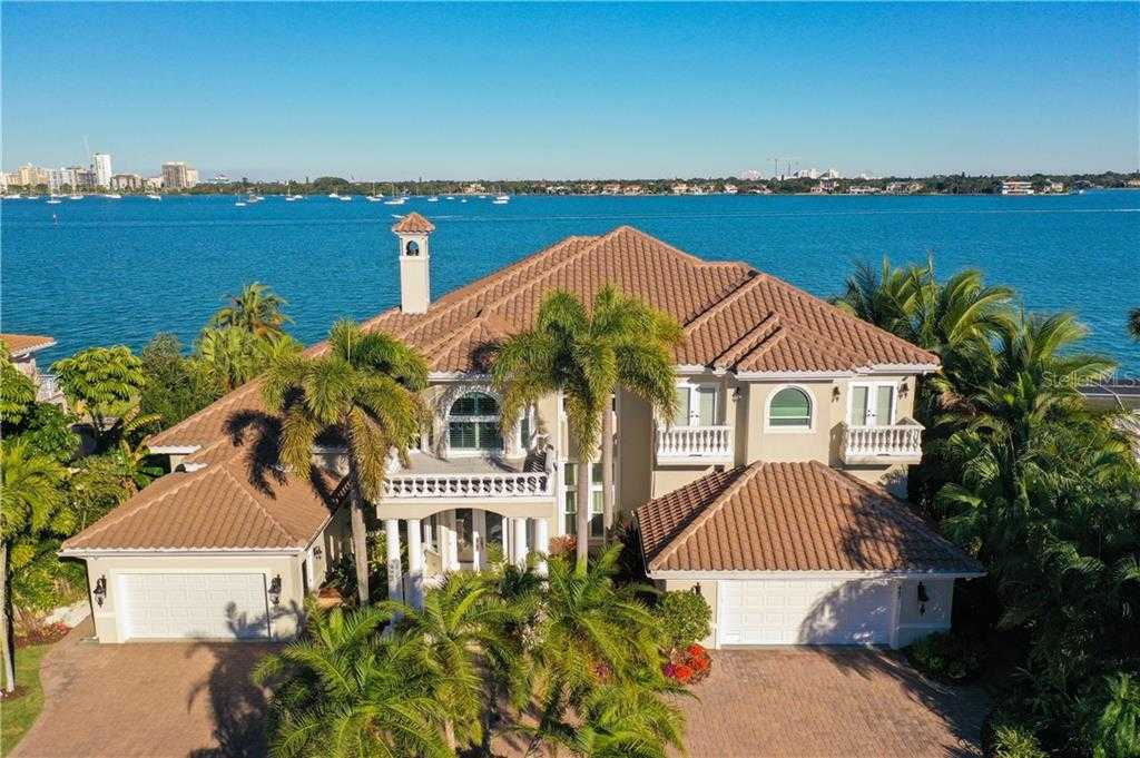 $4,975,000 - 4Br/6Ba -  for Sale in Bird Key Sub, Sarasota