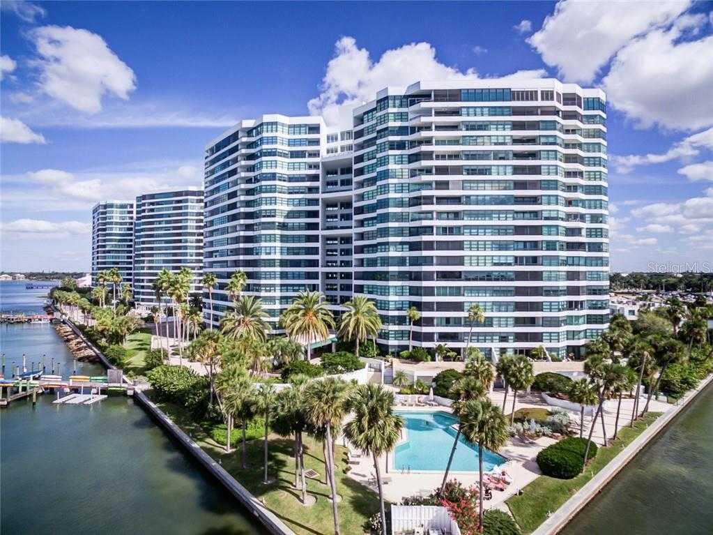 $525,000 - 2Br/2Ba -  for Sale in Condo On The Bay Tower I, Sarasota