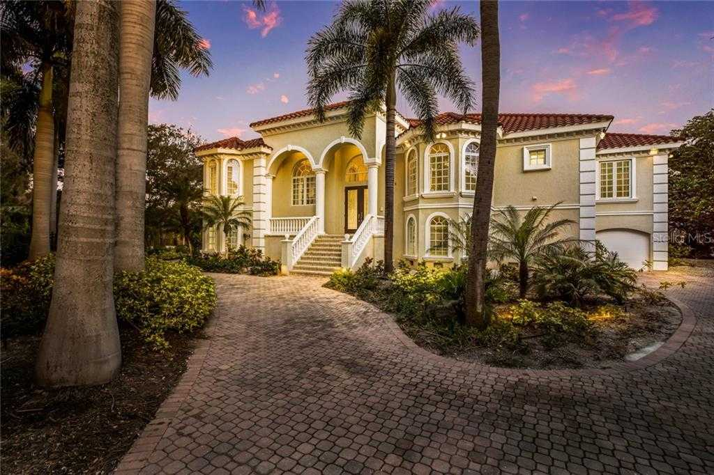 $1,975,000 - 3Br/3Ba -  for Sale in Midnight Harbor Sub, Sarasota