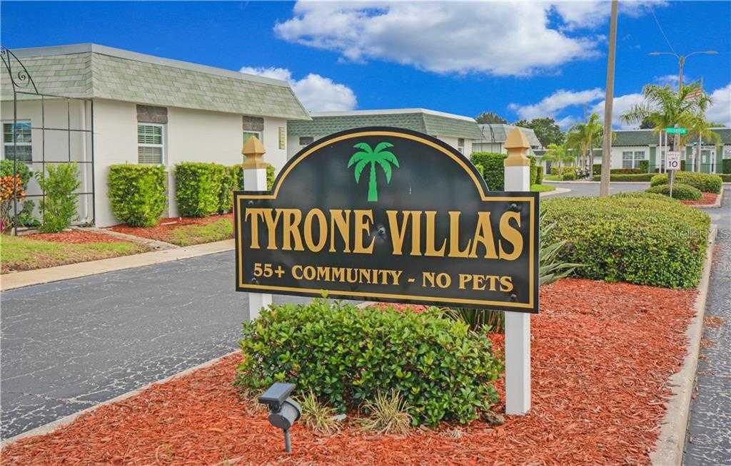 $99,999 - 2Br/1Ba -  for Sale in Tyrone Villas, St Petersburg