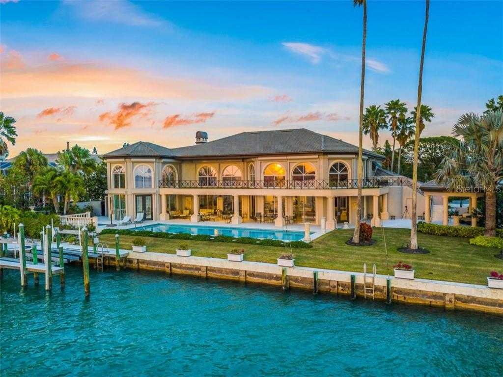 $6,250,000 - 5Br/7Ba -  for Sale in Bird Key Sub, Sarasota